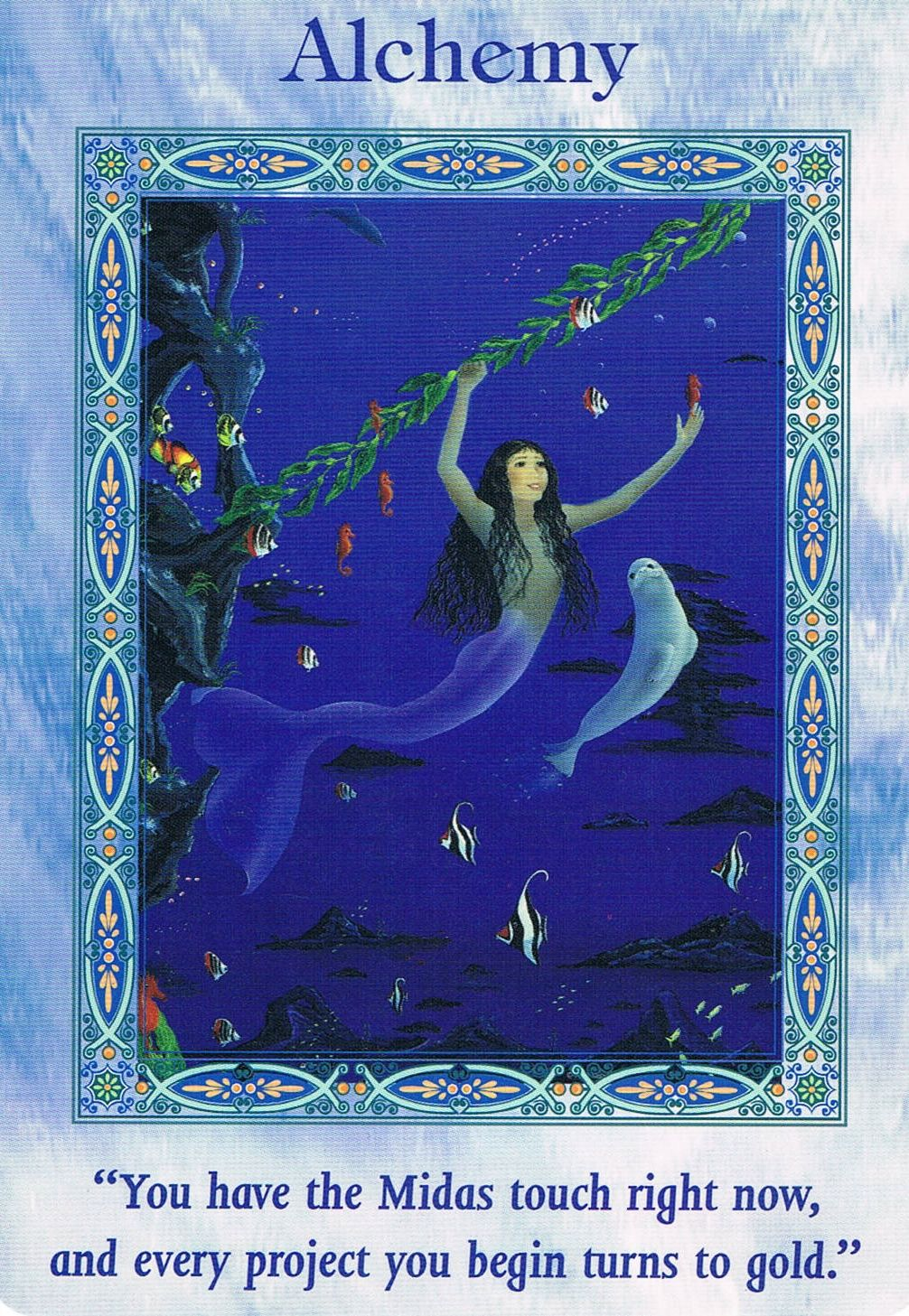 December 27 2014 card message alchemy from magical