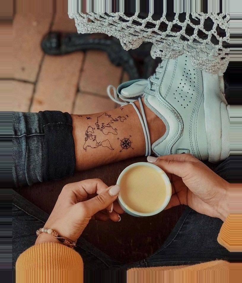 , #ideas #Reisepaar-Tattoos #small #tattoo 15 Small Tattoo Ideas Your body the best canvas, take a look at showcase a person's preferred art using the…, Travel Couple, Travel Couple