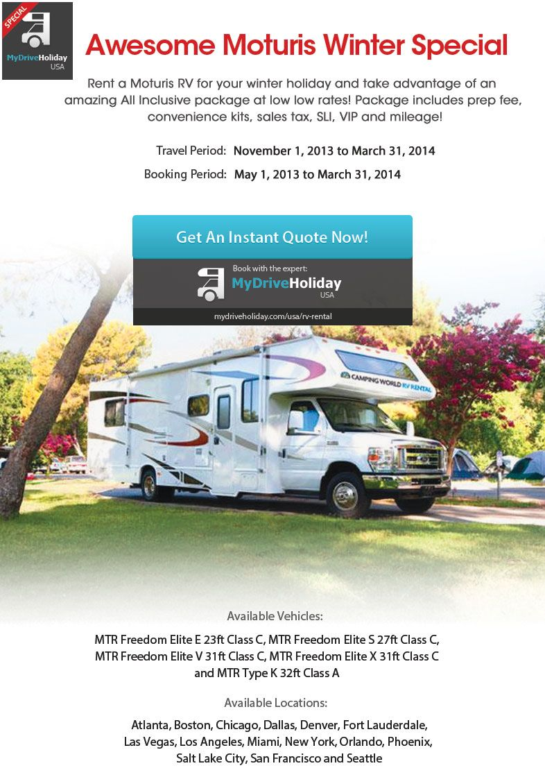 Pin On Motorhome Deals And Specials