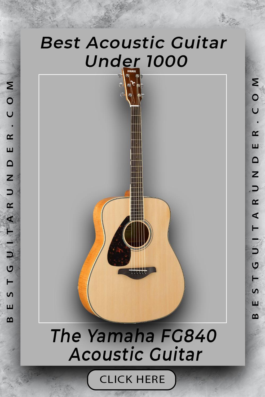 The Yamaha Fg840 Acoustic Guitar Best Acoustic Guitar Acoustic Guitar Acoustic