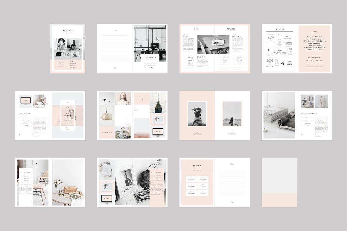Newington Portfolio | Indesign brochure templates, Brochure template ...
