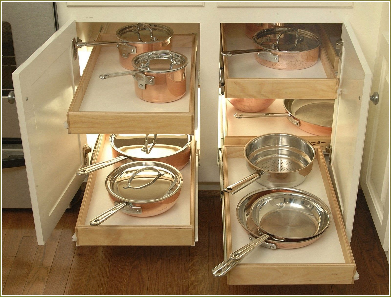 Organizing kitchen cabinets pots and pans verticalblindswindow