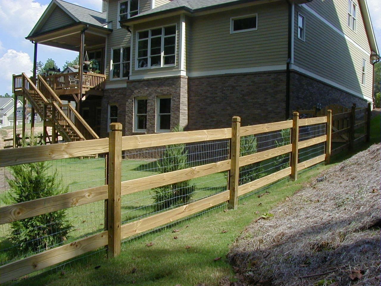 Best Images Of Split Rail Fence With Chicken Wire Google 640 x 480