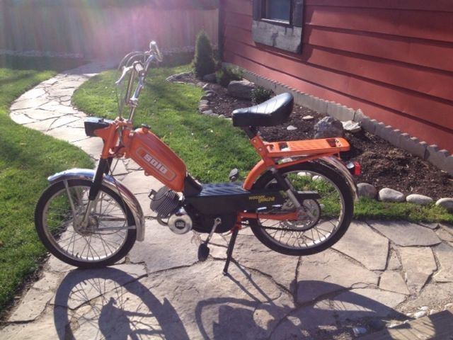 1980's Solo moped - http://www.gezn.com/1980s-solo-moped.html