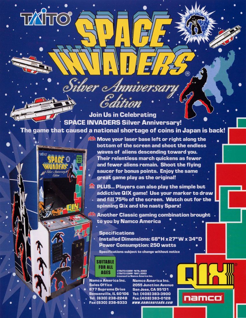 The Arcade Flyer Archive - Video Game Flyers: Space Invaders ...