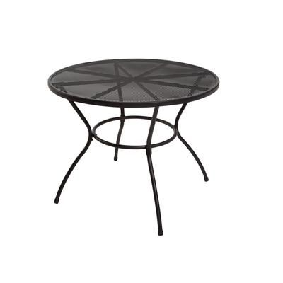 The Home Depot Patio Steel Mesh Dining Table Fts80190c Home