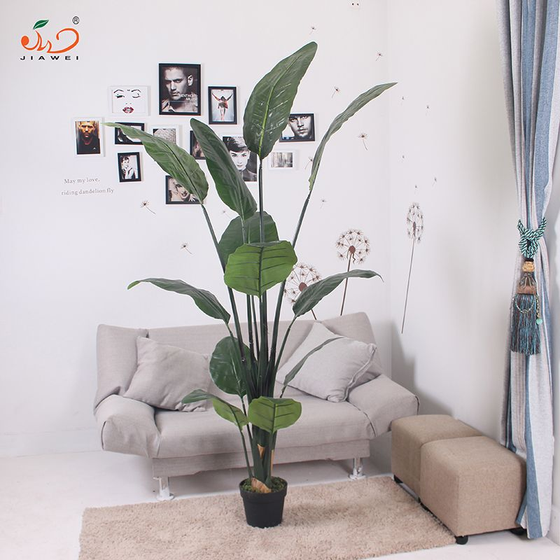 Top Artificial Bird Of Paradise Bonsai Wholesale Artificial Plants  ZP71