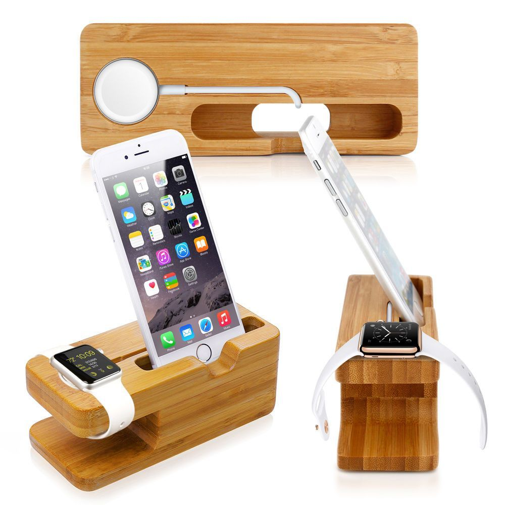Luxury bamboo charging dock products pinterest products