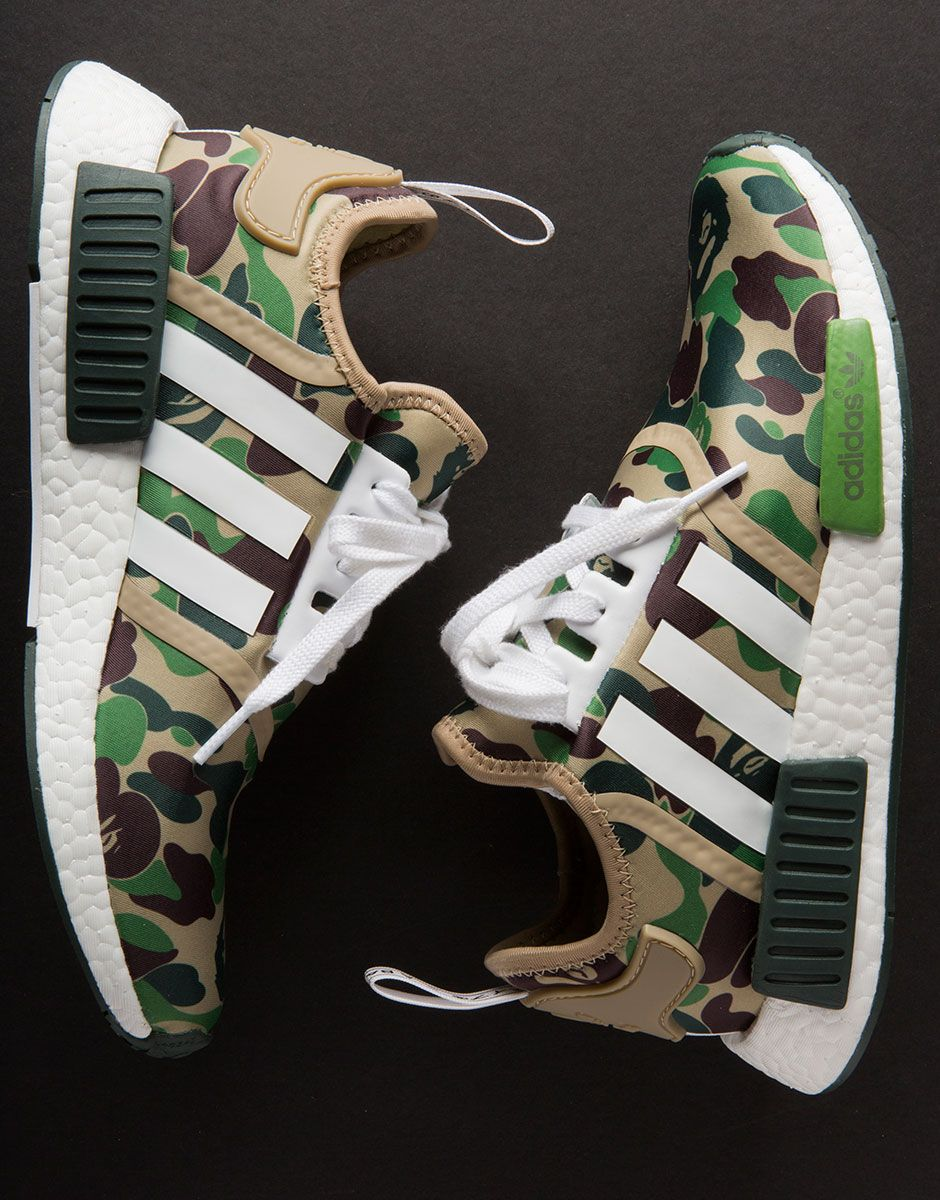7ab48c3a1f0 BAPE adidas NMD Release Info + Detailed Photos