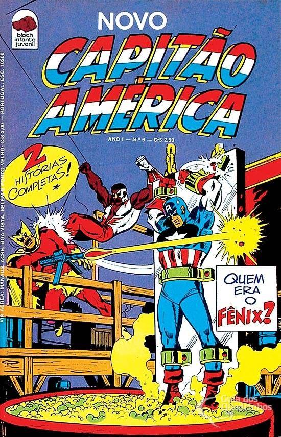 Capitão América  n° 6/Bloch | Guia dos Quadrinhos