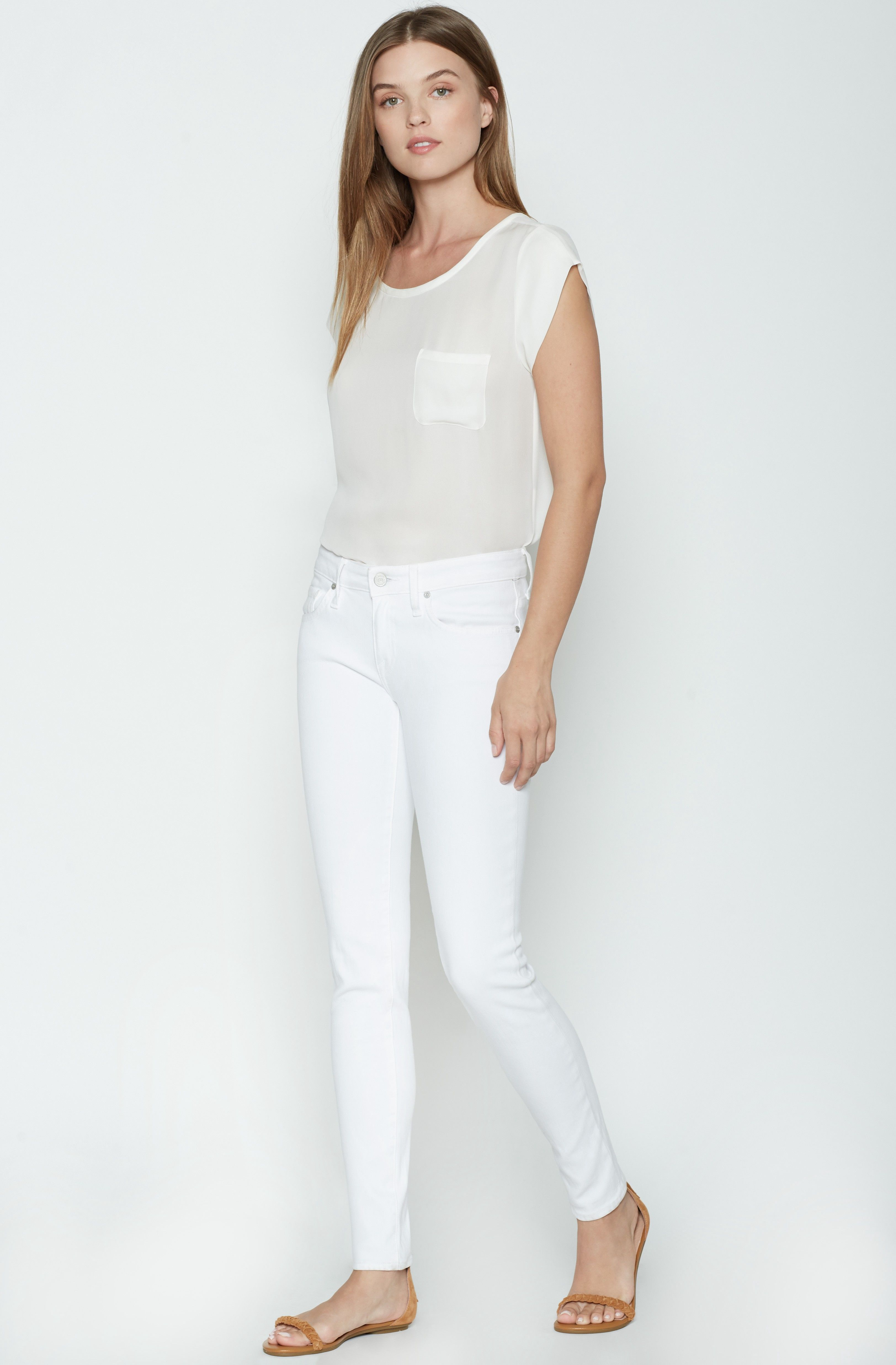 JOIE Mid Rise Skinny Jeans. #joie #cloth #all