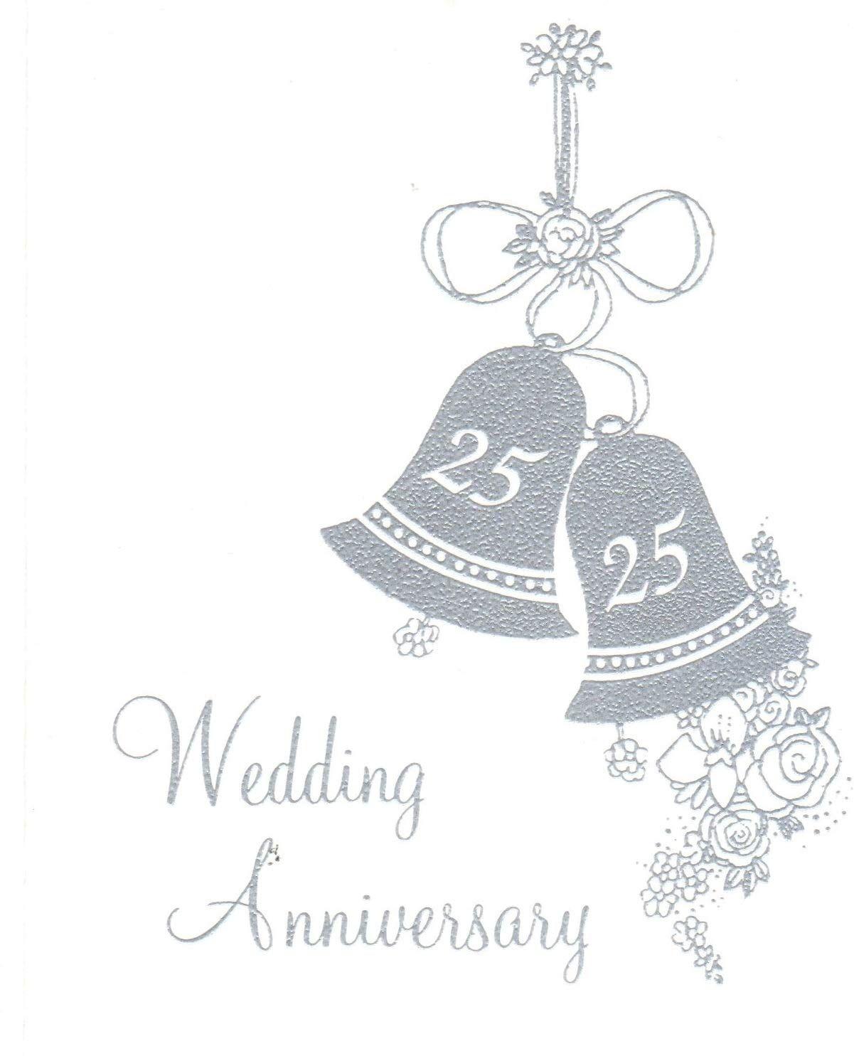 25th silver wedding anniversary invitations jubilee Design