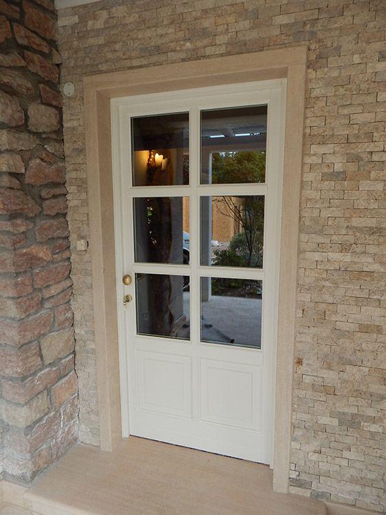 Porte ingresso vetro cerca con google porta - Finestra a bovindo ...