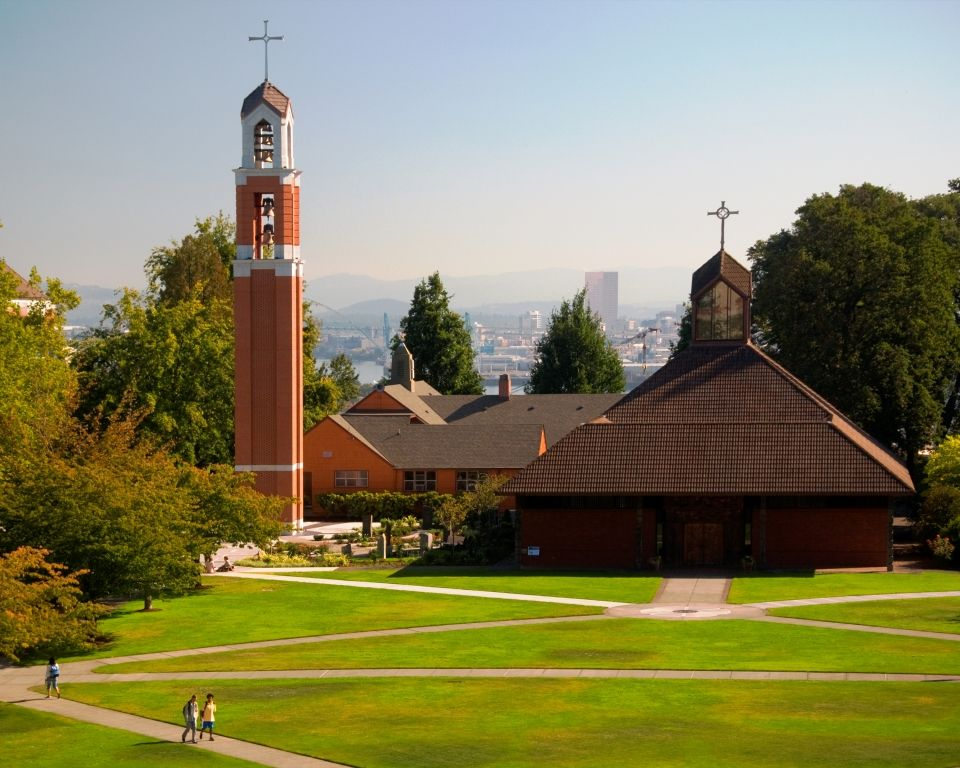 University of Portland - Magazine cover