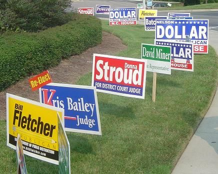 Image result for Grab The Attention Of The Voters BY Following Political Yard Sign Rules