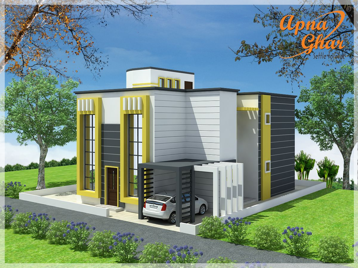 3 Bedrooms Duplex House Design in 270m2 (15m X 18m). Connect with ...