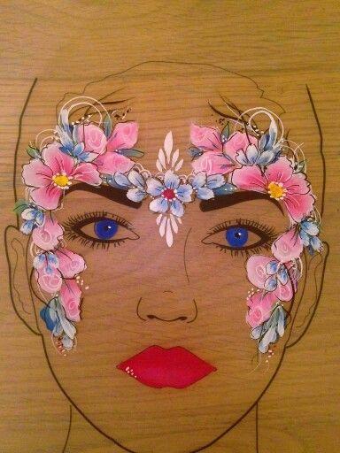 Sally-AnnLynch's #dollfacepainting Sally-AnnLynch's #dollfacepainting