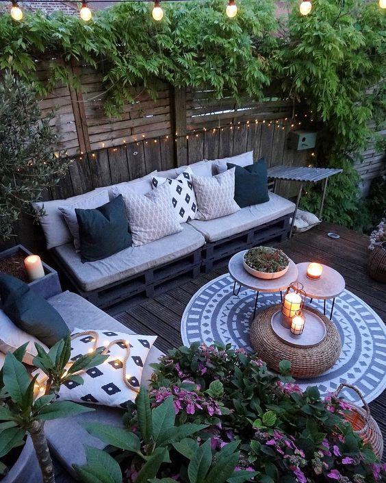 40 Unique Terrace Garden Decoration Envied By Neighbors Page 4 Of 49 Sciliy Cozy Backyard Patio Design Small Backyard Patio