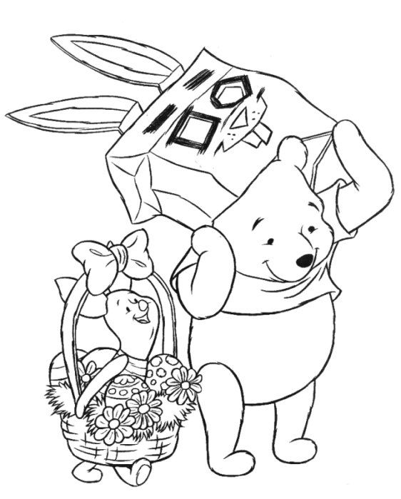 winnie the pooh pictures picture winnie the pooh easter coloring pagescoloring