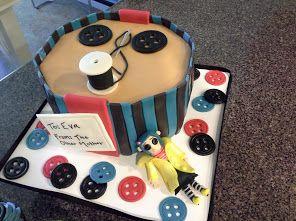 Fabulous Coraline Cake Mad Hatter Cake Birthday Sheet Cakes Coraline Funny Birthday Cards Online Inifodamsfinfo