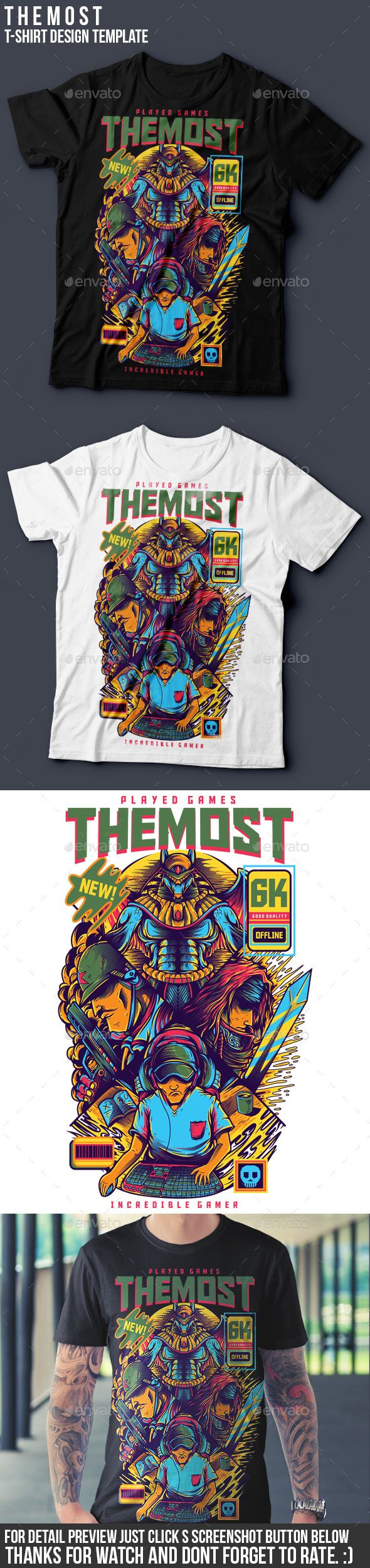 TheMost T-Shirt Design | Shirt designs, Ai illustrator and Template