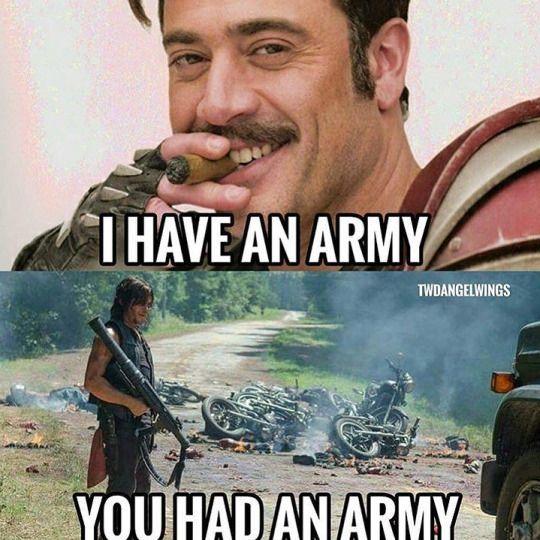 Negan vs. Daryl   The Walking Dead/Anything & Everything ...
