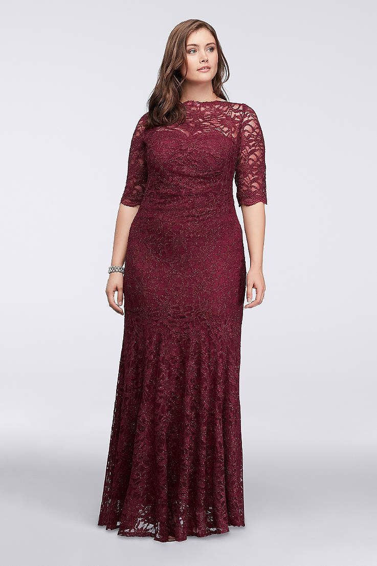 Find the perfect women s plus size dresses at David s Bridal for any  occasion a242067d3179