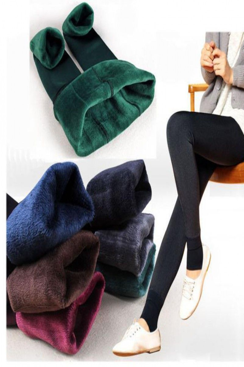 eb78d7b7180bb 7.49 | Women's Thermal Thick Warm Fleece lined Fur Winter Tight Pencil Leggings  Pants ❤ #womens #thermal #thick #warm #fleece #lined #winter #tight #pencil  ...
