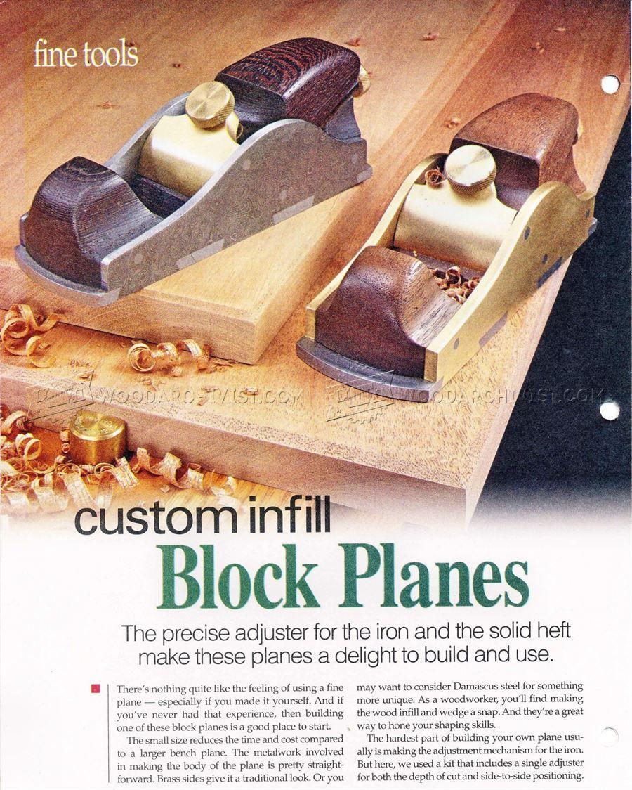# 319 personalizada de relleno de bloques Plano - Herramientas de mano