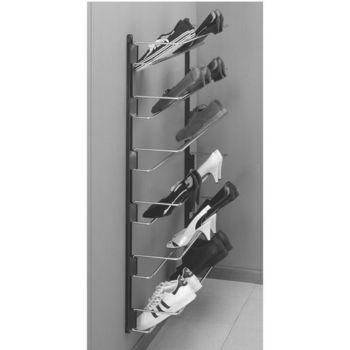 Pin By Sybil Bowman On Skohirsluhugmyndir In 2020 Wall Shoe Rack Wall Mounted Shoe Rack Shoe Rack