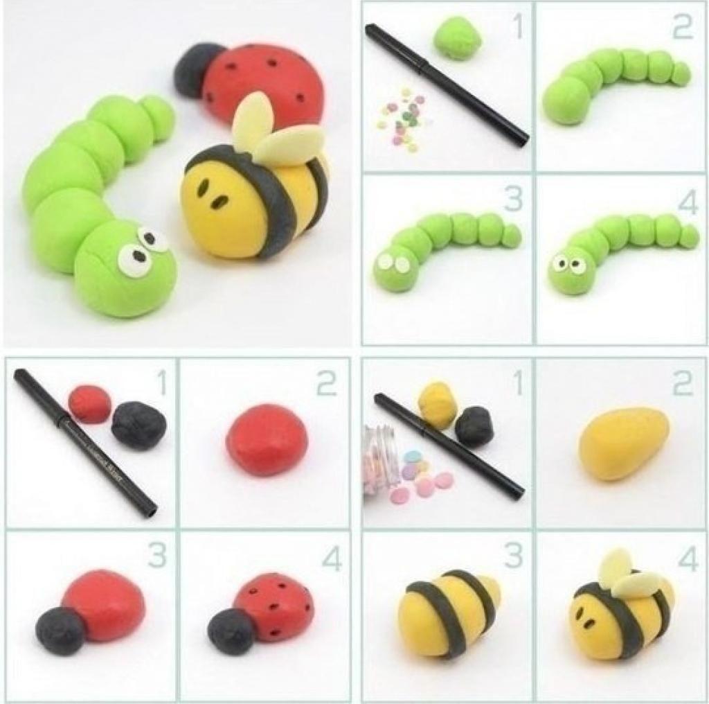 40 adorables mod les et tutoriels de petits personnages modeler petit personnage. Black Bedroom Furniture Sets. Home Design Ideas