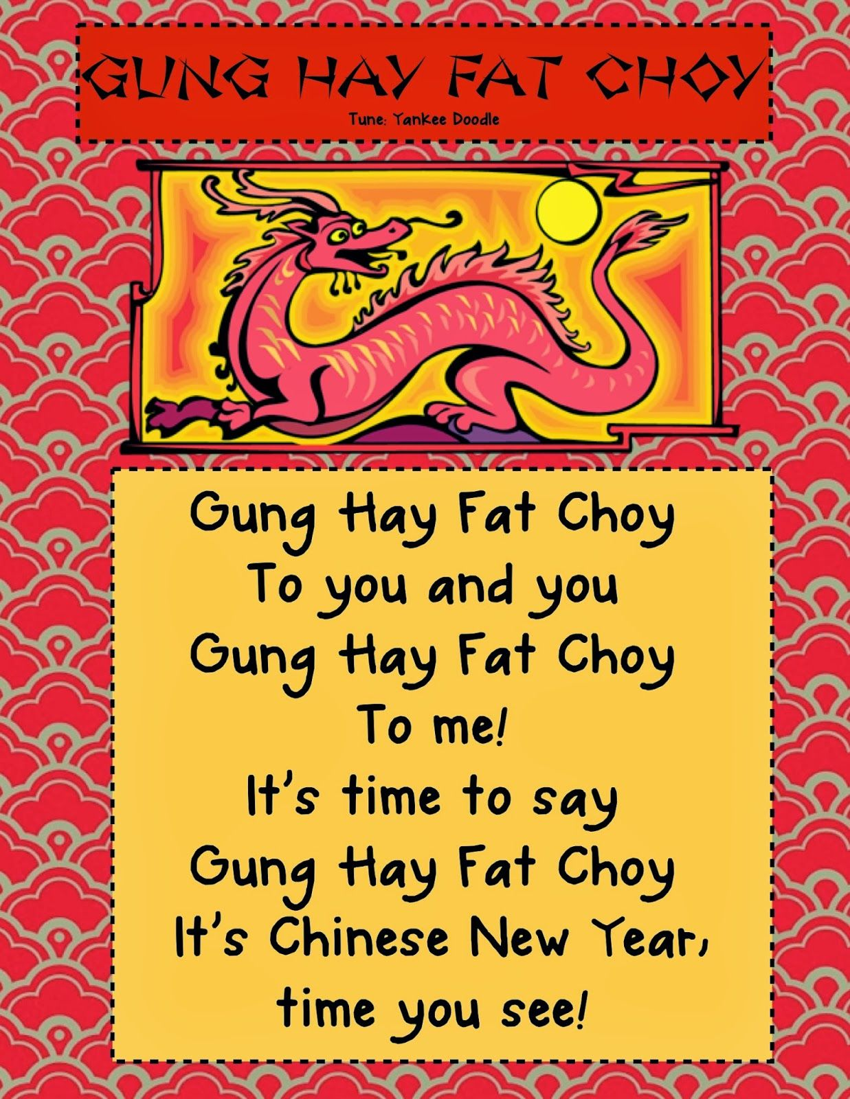 Happy Chinese New Year From Kindergarten Kiosk