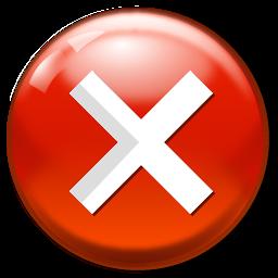 Cancel Icon Software Iconset Aha Soft Icon Aha Cancelled