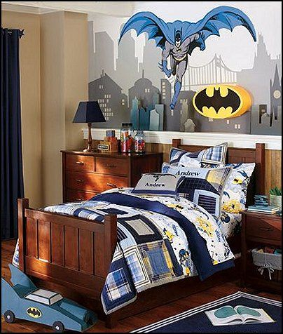 Pin By Bogdan Lucian On Home Decorating Boys Bedroom Themes Batman Bedroom Decor Bedroom Themes