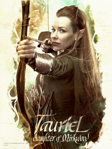TAURIEL™ Daughter of Mirkwood Post Cards