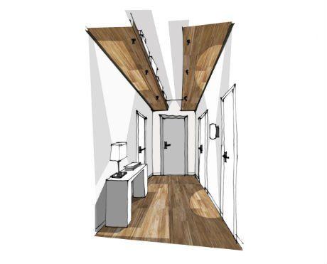 4 Idees De Rangement Au Sol Au Mur Et Au Plafond Leroy Merlin Idee Deco Couloir Rangement Au Plafond Idee Rangement