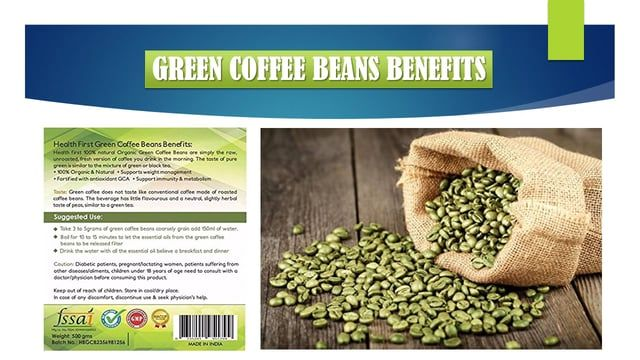 What does green coffee beans taste like