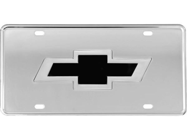 304 Stainless Steel 3D License Plate GMC Logo suv truck