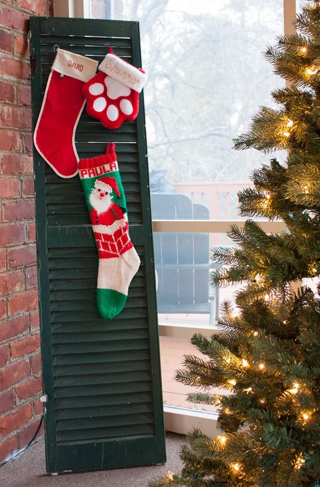 Christmas Outside and on the Porch Stockings, Holidays and - christmas decorations for outside