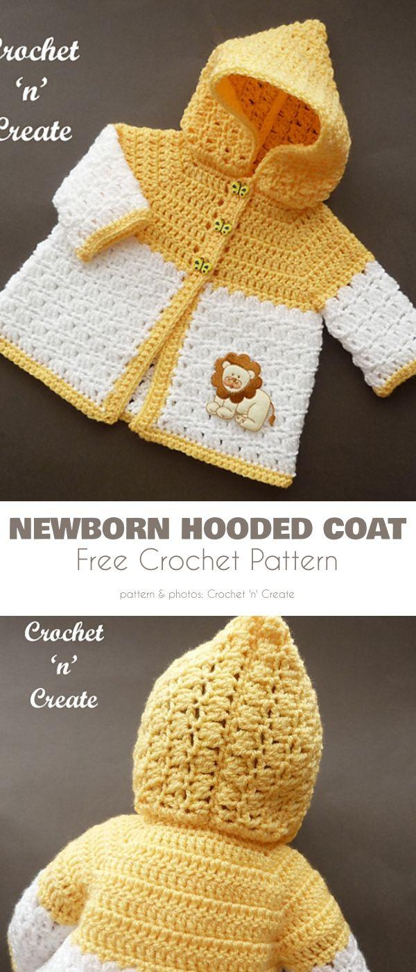 Baby Hoodies, Free Crochet Patterns - Baby Crochet