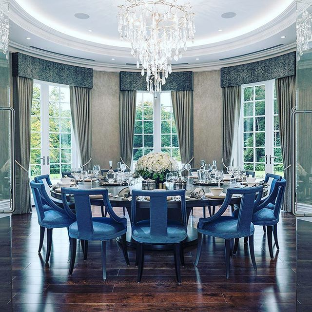 Mansion Dining Room: The Dining Room At Westbourn, A £23M Surrey Mansion