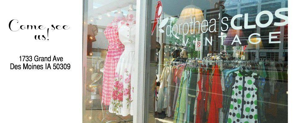 Dorothea S Closet Vintage Online Vintage Stores Vintage Clothing Boutique Vintage Store