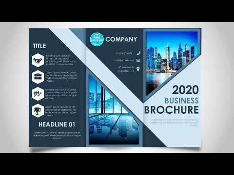 How To Make A Brochure In Powerpoint Print Ready Design Youtube How To Make Brochure Brochure Powerpoint Tutorial