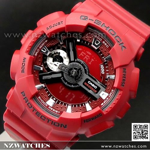 Casio G-Shock S Series Rose Motif Band Ladies Watch GMA-S110F-4A ... c23bf275c9