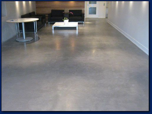 Danamac concrete systems providing polished concrete for Stained polished concrete floor