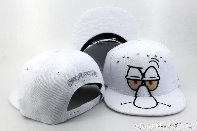 1b54c775d3b7a Nickelodeon Cartoon Snapback Cap white classic men women s designer snapback  hats Freeshipping  9.88