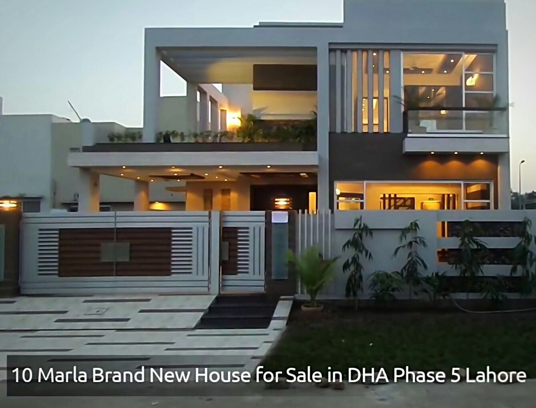 Kelam   idea front elevation house modern architecture indian dream also kanal dha contemporary design with swimming plool rh pinterest