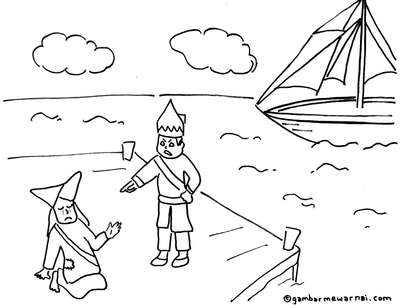 Gambar Mewarnai Dongeng Dan Cerita Rakyat Iman Projects To Try