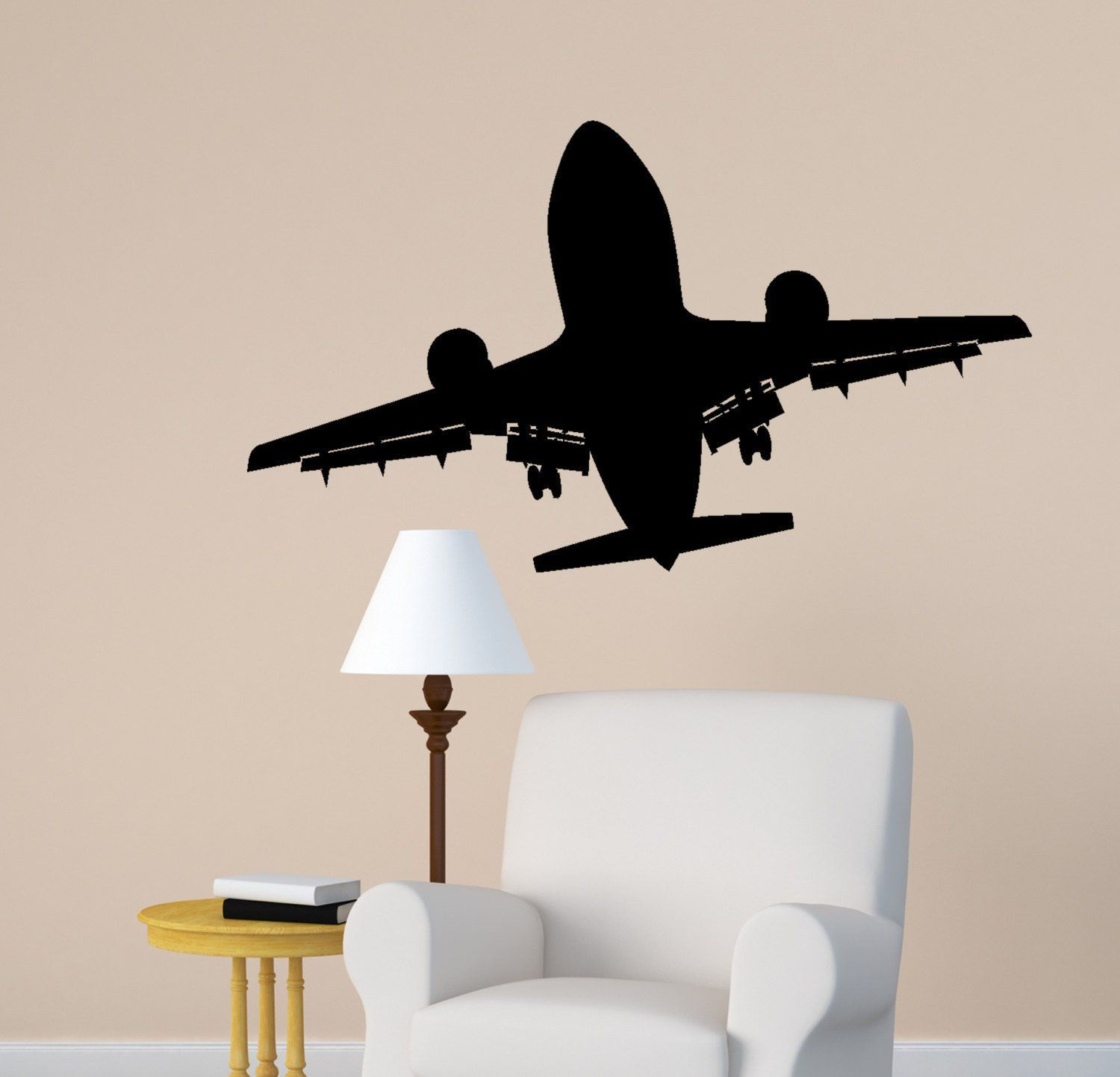 Nursery wall decals airplanes pinterest airplane art and also rh