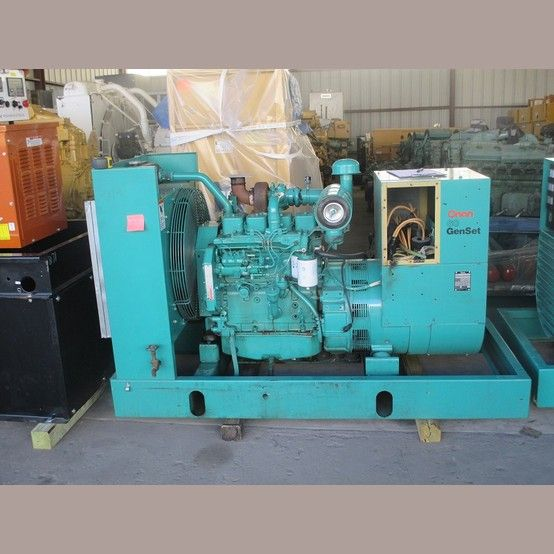 Cummins 60 kW Diesel Generator  Model: 4BT-3 9  108 hp